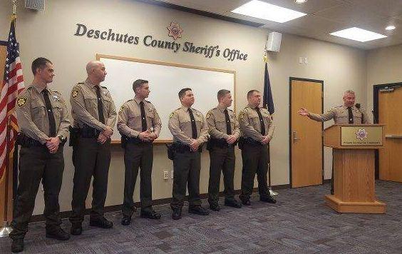 DCSO Swears In Six Corrections Deputies