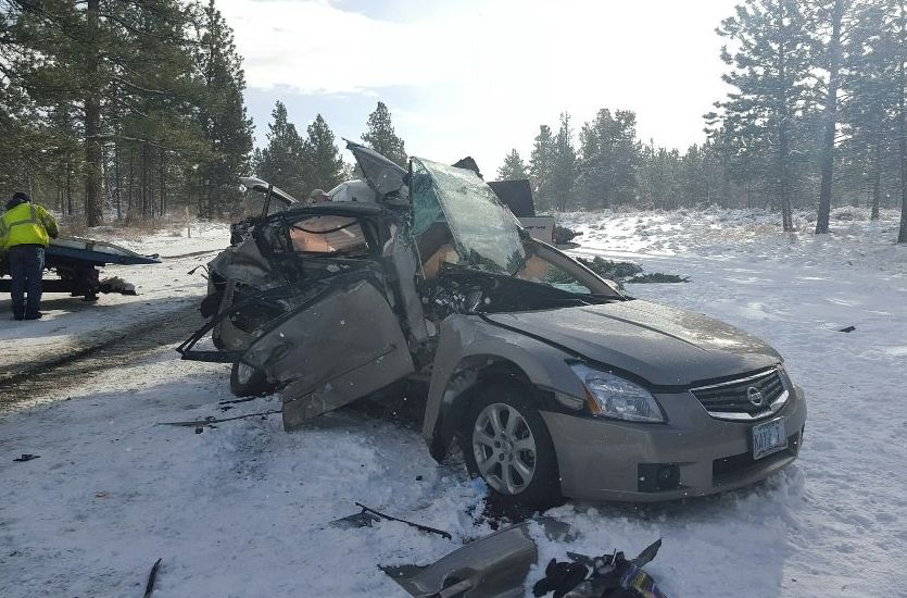 Bend Woman Killed in Hwy 20 Crash