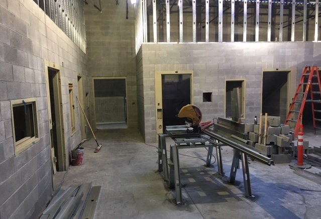 New Crook County Jail Takes Shape